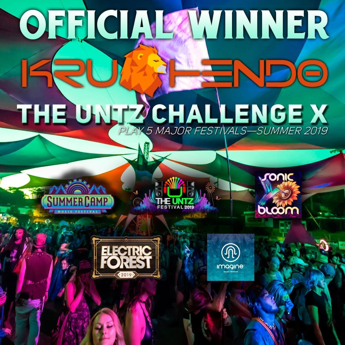 Krushendo Official Untz Challenge X Winner!